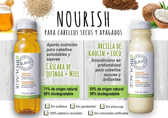 beautyfusion biolage raw nourish